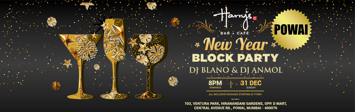 New Year Eve Party @ Harrys Bar-Cafe, Powai
