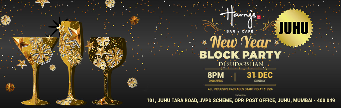 Book Online Tickets for New Year Eve Party @ Harrys Bar-Cafe, Ju, Mumbai.        Event Name:   New Year Eve Party      Event Time:   8 pm onwards      Duration of the event:   6 hours      Event Date:   31st December 2017      Venue:   Harry's Bar + Café      Venue Address: