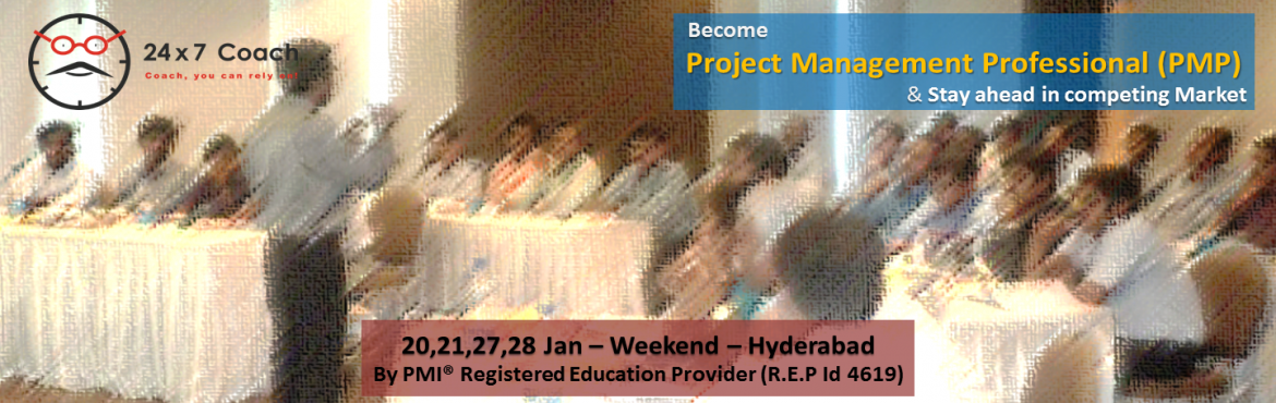 PMP Certification Course In Hyderabad Jan 2018 - Earn your PMP credential in first attempt