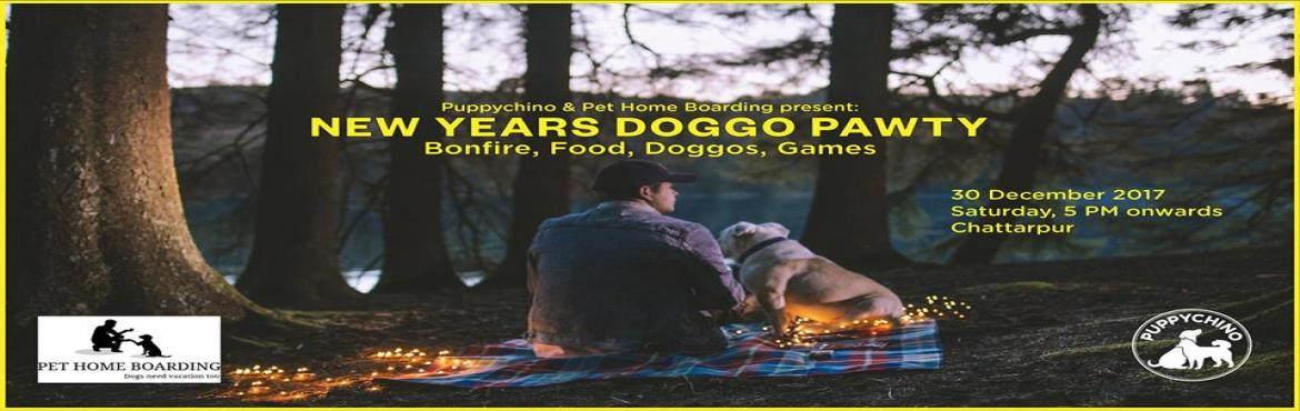 Book Online Tickets for New Years Doggo Pawty, New Delhi.  Puppychino in collaboration with Pet Home Boarding presents the first doggo friendly party of the season!This New Year, forget the tension of leaving your furry babies behind and treat yourself and your wonderful puppers to a bonfire, food, chi