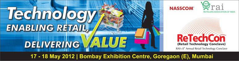 RAI\'s 8th Retail Technology Conclave 2012, Bombay Exhibition Centre, Goregoan, Mumbai