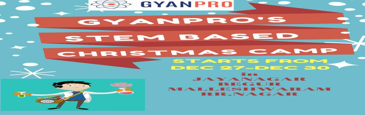 GYANPRO Fun Filled Christmas Camp For Children Jaynagar