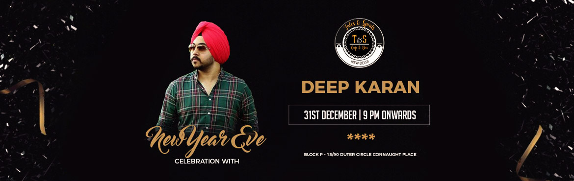 Book Online Tickets for DHOL, BHANGRA TE PEG PUGG- NYE 2018 BASH, New Delhi. Timings: 09:00 PM (31st December) - 01:00 AM (01st January) Welcome 2018 with the craziest NYE bash at Tales and Spirits. A LIVE DHOL to get your feet going, a dazzling performance by SUPERSTAR singer DEEP KARAN of Peg Pugg fame and amazing food and