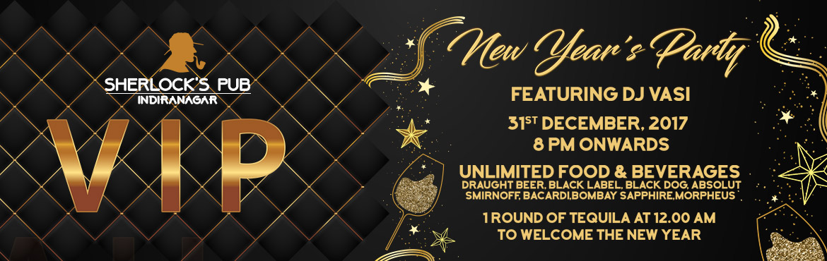 Book Online Tickets for VIP New Year Party, Bengaluru.   VIP New Year Party..!