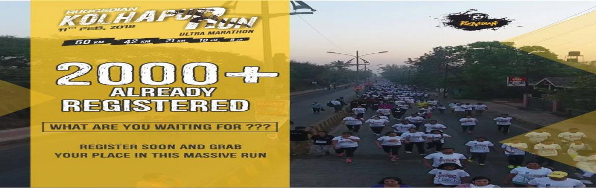 Book Online Tickets for Ruggedian Kolhapur Run, Kolhapur. Running a marathon is not a daunting task! All you need is a little push. Are you someone who loves accepting challenges and pushing yourself to achieve goals? What are you waiting for? Put on your running shoes and get ready for one of the most exci