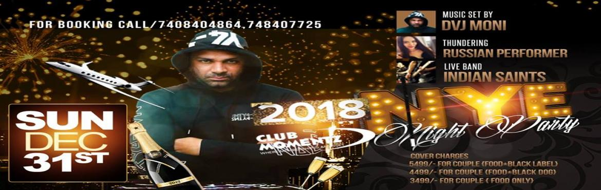 Book Online Tickets for New Year Party-Dance Drink Dinner, Lucknow.  A New Year Eve festivity with a distinction. At long last! An occasion to commence your new year in style. Lucknow Women and men of honor prepare to be wined, eaten and engaged in the year 2018! This will be the event of the year taking place i