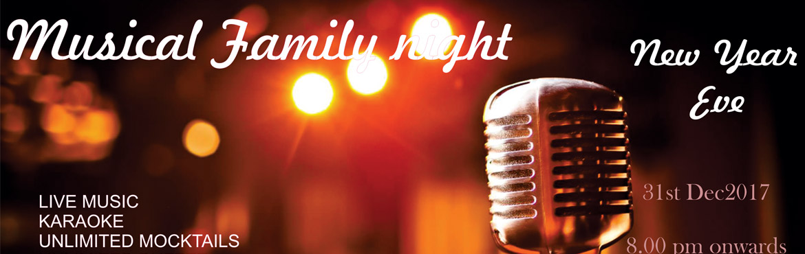 Book Online Tickets for Musical Family Night @ The Peerless Inn, Hyderabad. Event Highlights:  Karaoke Live Music (Band: The Staves) Unlimited Mocktails Lavish Buffet