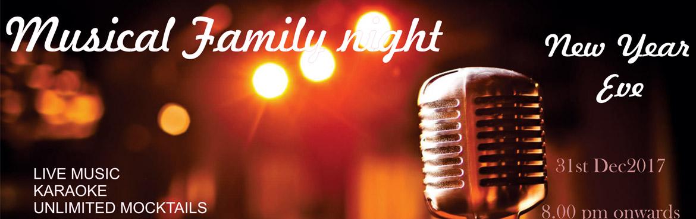 Musical Family Night @ The Peerless Inn