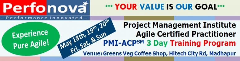 Book Online Tickets for PMI - ACP<sup>SM</sup> 3 Day Training Pr, Hyderabad. Who we are &amp; how we are different?