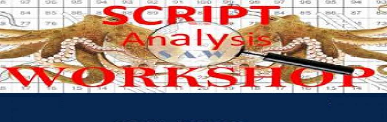 2 days script analysis workshop  by Kavita Hans