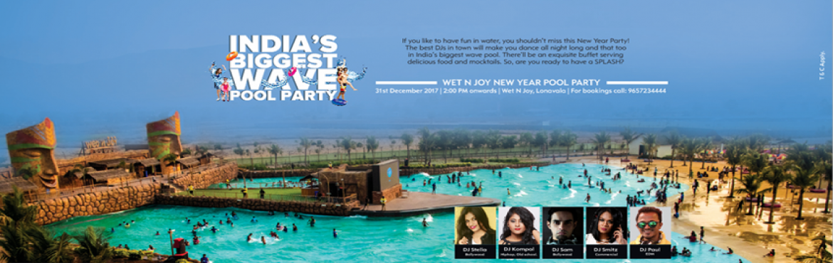 Indias Biggest Wavepool Party