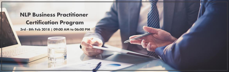 NLP Business Practitioner Certification Program