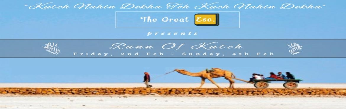 Book Online Tickets for Rann Of Kutch - Kutch Nahi dekha toh Kuc, Kutch. Kutch, a remarkable region in the northwestern part of the vibrant state of Gujarat,is well known for its geographical wonder of endless salt desert, home to rare wildlife, rich history and fibrant art. Probably this is why Shri Amitabh Bachchan has