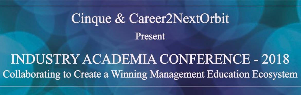 Book Online Tickets for Industry Academia Conference - 2018, New Delhi. Annual upcoming conference (IAC 2018). With the theme of the Conference being\