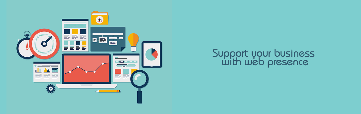 Support Your Business With Web Presence