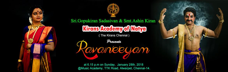 RAVANEEYAM Biggest Bharatanatyam Utsav of South India 2018
