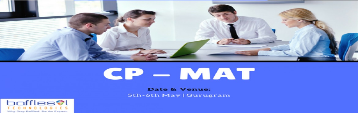 Book Online Tickets for Certified Professional - Master Agile Te, Gurugram. Overview CP-MAT is the surest way to learn Agile testing. It is being offered by a global alliance of testing evangelists - Agile Testing Alliance and a leading university in south east Asia - UTM (University Teknology Malaysia).   Course cover
