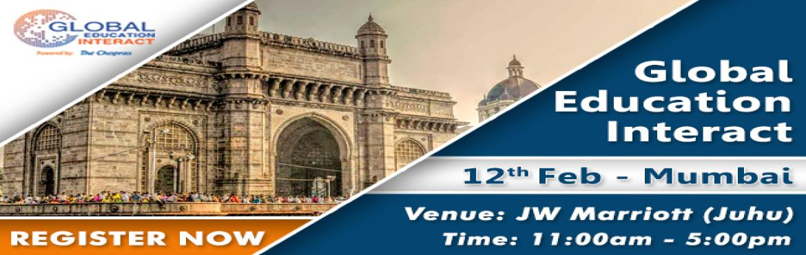 Book Online Tickets for Global Education Fair 2018 in Mumbai - F, Mumbai.     Thinking about higher education, Do you aspire to study abroad? If yes then the wait is over as we, at The Chopras, welcome you to the future of higher education Counselling and management with our Global Education Fair 2018! Global Educati