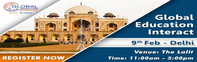 Global Education Fair 2018 in Delhi - Free Registration