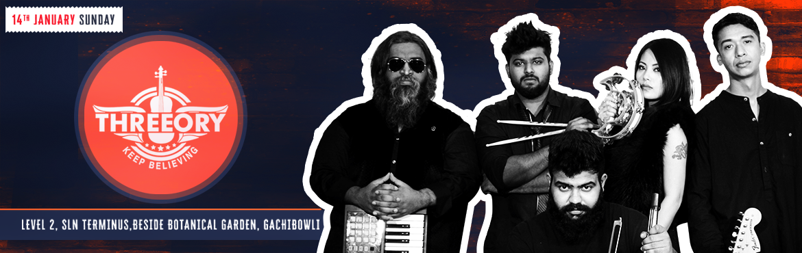 Book Online Tickets for Threeory Live at Club Rogue, Hyderabad.   Join us for a melodious night of soul-stirring, fusion music with one of Hyderabad & most happening cover bands - Threeory - this weekend, 14 January. Sunday Live at Club Rogue is the place to be! ARTIST BIO: Threeory is a progressive Rock