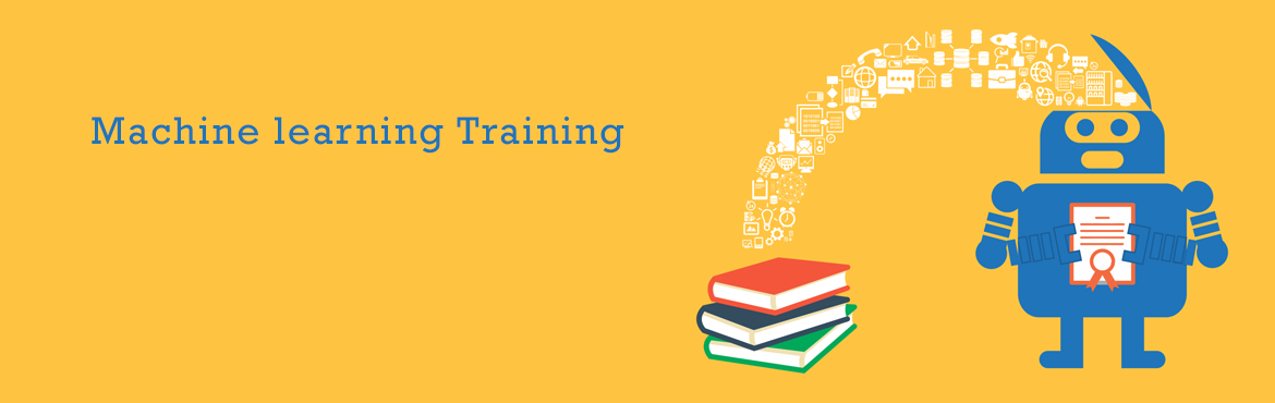 Book Online Tickets for Machine learning Training, Noida. Machine Learning Machine Learning has been emerged as the new sensation in the IT industry; this facilitates evaluation, optimization and representation; all of these are the components of the algorithm. The training on Machine Learning P
