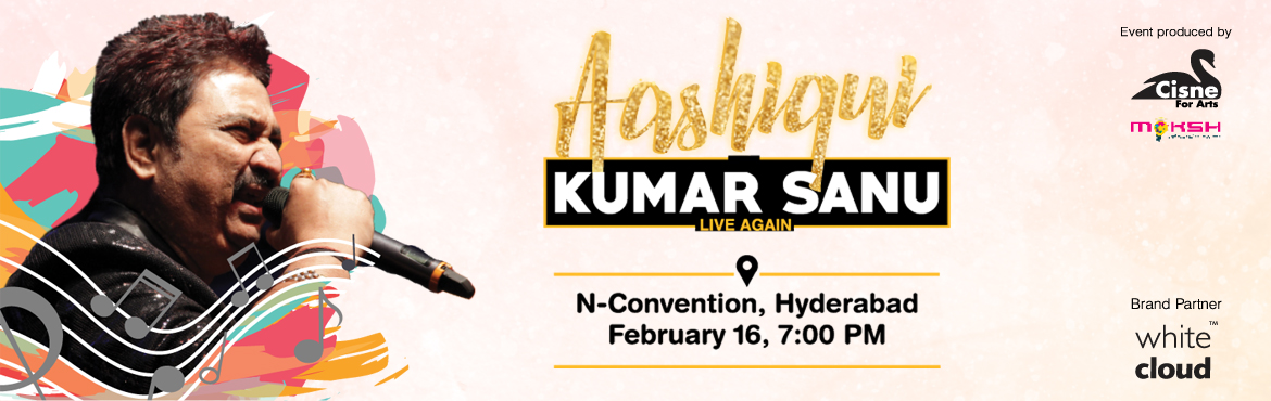 Book Online Tickets for  Aashiqui by Kumar Sanu Live again@ Hyde, Hyderabad.  Come experience the magic of 1990s in a voice that took the film industry by a storm. His powerful voice, his persona, his aura of recreating the magic of Kishore Kumar is what makes him a superstar performer. First time ever in Hyderabad 1990\