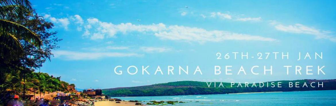 Book Online Tickets for Gokarna Beach Trek, Bengaluru.  Trek on a beach, rock climb next to the ocean and hear the water speak to you. Spend your next weekend next to the sea in peace and calm of the water.Located 520kms from Bangalore, 238kms to Mangalore and 150kms from Goa it is a place where wee