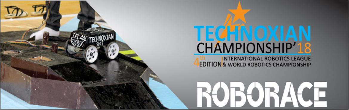 Book Online Tickets for RoboRace (WORLD ROBOTICS CHAMPIONSHIP) , New Delhi.  RoboRace (WORLD ROBOTICS CHAMPIONSHIP) CHALLENGE:Design a robot either wired or wireless within the specified dimensions that can operated manually and can travel through all turns of the track. The robot that will complete the specif