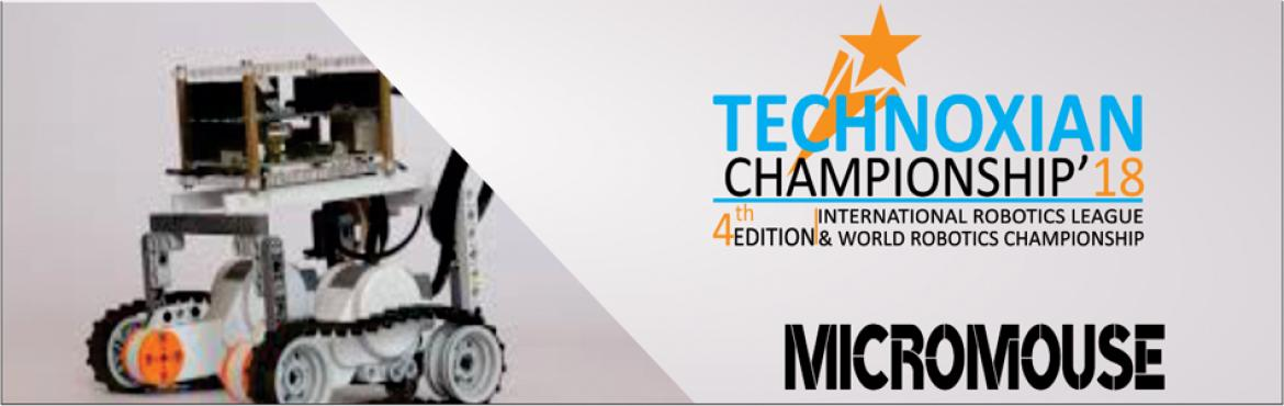Book Online Tickets for  MicroMouse(WORLD ROBOTICS CHAMPIONSHIP), New Delhi. MicroMouse(WORLD ROBOTICS CHAMPIONSHIP) CHALLENGE:In this contest the contestant or team of contestants design and build small self-controlled robots (MicroMouse) to negotiate a maze in the shortest possible time.  The challenge of t