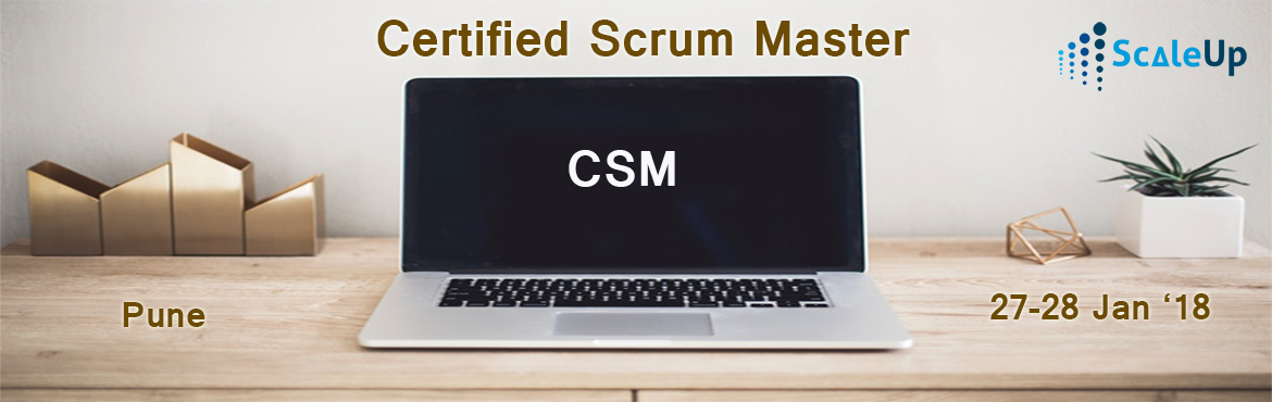 CSM Certification, Pune (27 January 2018)