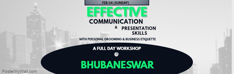Effective Communication Skills and Presentation Skills  Workshop  at Bhubaneshwar