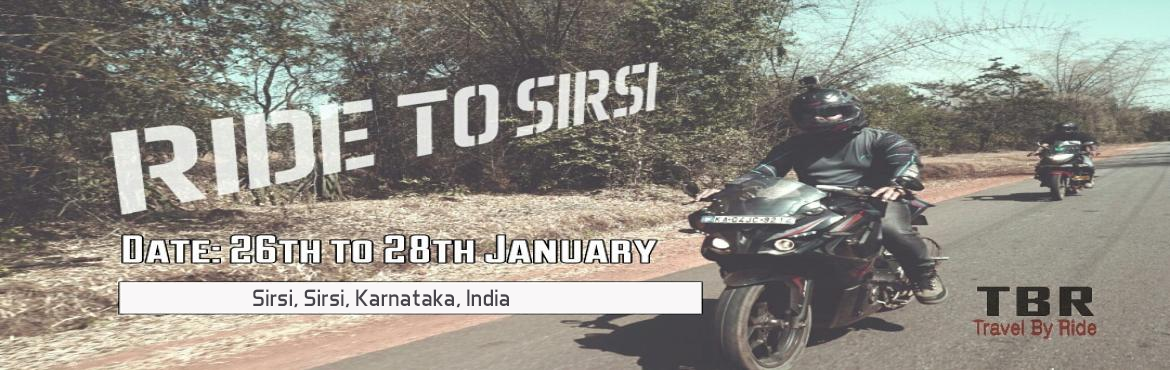 Ride to Sirsi