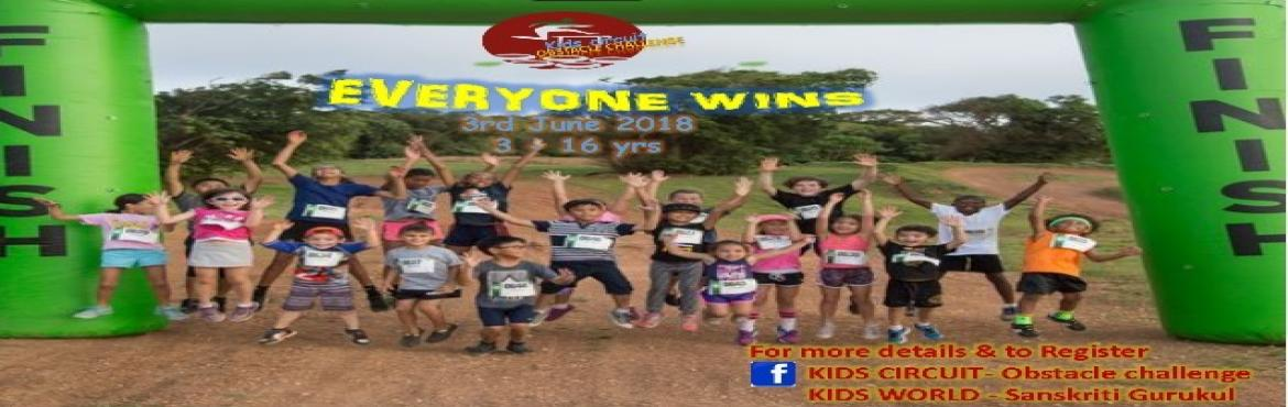 Book Online Tickets for Kids circuit- Obstacle challenge for Kid, Bengaluru. Kids Circuit is to inspire and challenge kids, build their confidence and strength through adventure and obstacle\'s challenge. They will face obstacles bravely which will lead them to be courageous to overcome obstacles in life in their future