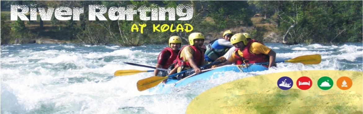 Book Online Tickets for River Rafting at Kolad Overnight  on Feb, Kolad.   Small Steps Adventures River Rafting at Kolad Overnight Package: Info: Kolad is approx 95 kms from Chandni Chowk, Pune and 130Km from Mumbai. It\'s a perfect destination for adventure and outdoor activities. Our campsite provides the accommoda