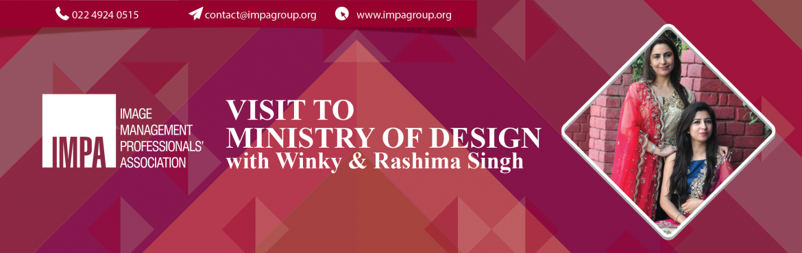Book Online Tickets for Visit to Ministry of Design, New Delhi. Visit to Ministry Of Design All brides want to look their best on their wedding day, and Indian designer Winky Singh has been helping brides achieve this since the early 2000s, creating custom made gowns and ethnic Indian outfits for t