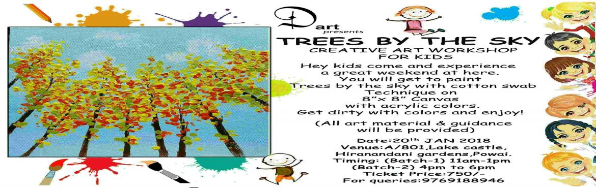 TREES BY THE SKY- Creative workshop for kids