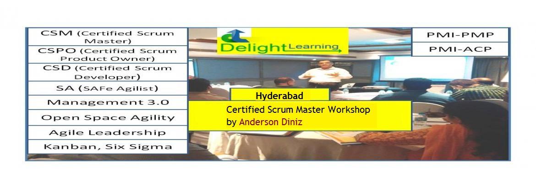 Certified Scrum Master (CSM) Workshop by Anderson Diniz | Mar 17-18  | Hyderabad