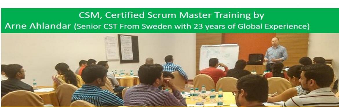 Book Online Tickets for Certified Scrum Master Training by Arne , Gurugram. OVERVIEW Scrum is a framework for developing and sustaining complex products. This definition consists of Scrum's roles, events, artifacts and the rules that bind them together.Ken SchwaberandJeff Sutherlandd