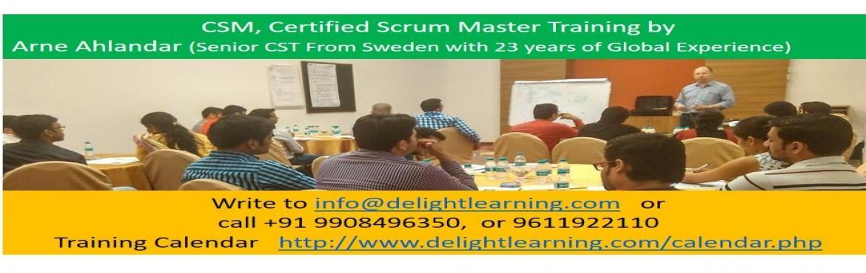 Certified Scrum Master Training by Arne Ahlander Gurgaon May 05-06