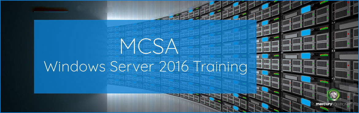 Book Online Tickets for MCSA Windows Server 2016 Course in Gurga, Gurugram. MCSA Windows Server 2016 helps you to enhance your IT skills, reduce IT costs and deliver business value. The certification equips you with the primary set of Microsoft Server 2016 skills and qualifies you for furthering your IT career as a Comp