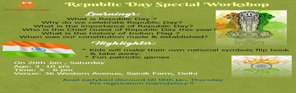 Republic Day Special Workshop For Kids