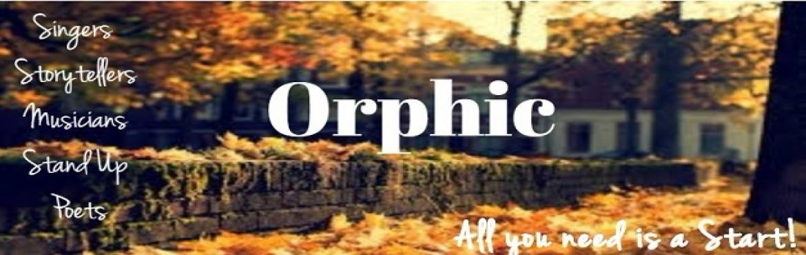 Book Online Tickets for Orphic Mic, Pune.  Picture this -A room full of creatives shutting off from reality for couple of hours while engaging in some captivating talents amongst themselves. Of course you are in a dimly lit warm little place with munchers at your reach! Would you