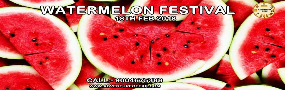 "Book Online Tickets for Watermelon Festival , Mumbai.  In the scorching heat of Mumbai, a basket full of Watermelons is something you cannot afford to miss!""When one has tasted watermelons, he knows what angels eat""Let it be Winters, Summer or Rainy, watermelons can never be missed&hell"
