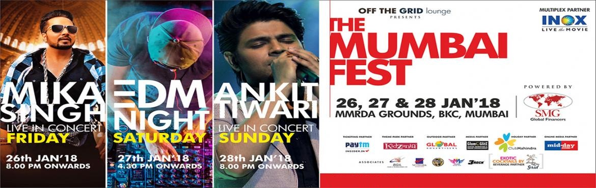 Book Online Tickets for The Mumbai Fest 2018, Mumbai. At the Mumbai fest, it is ALL BIG THINGS coming together! Commencing with THE WORLD PEACE SUMMIT, which will be inaugurated by Acharya. Dr Lokesh Muni himself, the fest will also promote the SWACCHA BHARAT ABHIYAAN. DRUM CAFE, the world's numbe