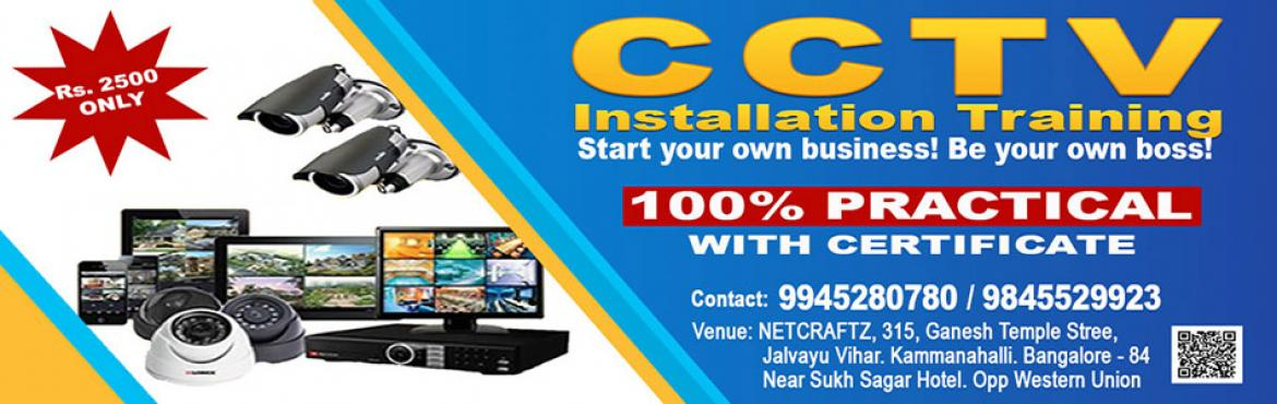 Book Online Tickets for CCTV Training, Bengaluru.   Overview of the WorkshopThe complete CCTV Installation Course offers a superb blend of \'need to know\' classroom theory and \'hands on\' practical experience. Over 2 full days we will provide you with the necessary knowledge and skills t