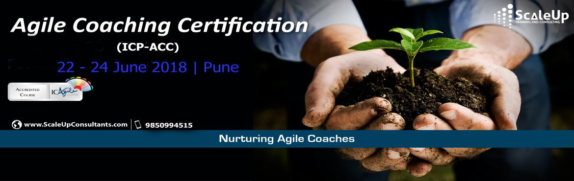 Book Online Tickets for Agile Coach Certification, Pune - June 2, Pune. The Agile Coaching Workshop is a 3-days face-to-face training program with the primary objective to make learners efficient in coaching agile teams. It helps the participants understand and develop the essential professional coaching skills, apprecia