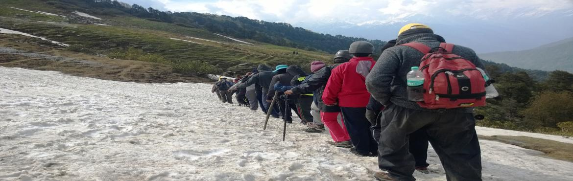 Book Online Tickets for Chandrakhani Pass Trek, Manali.  Chandrakhani Pass Trek Location   Manali Region   Himachal Pradesh, India Difficulty Level   Moderate Endurance Level   High Highest Altitude   ~ 11600 ft. Temperature   Day time: 12°C-19°CNight time: 0&deg