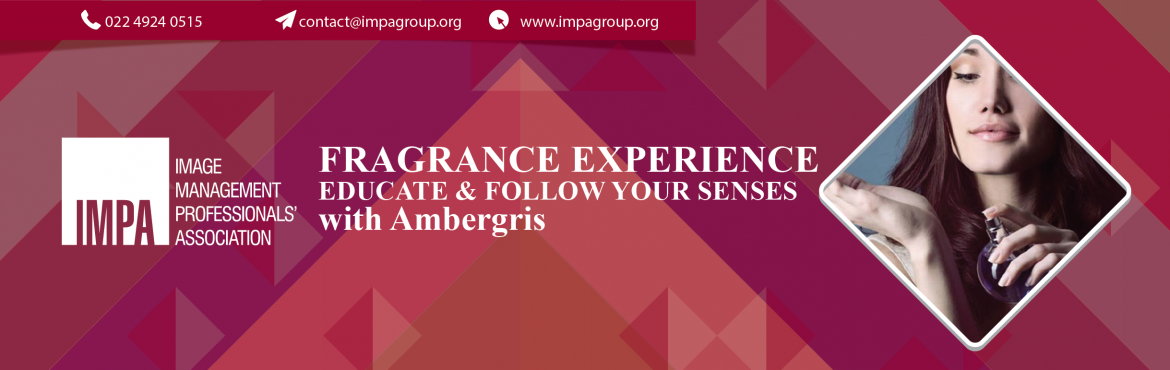 Book Online Tickets for Fragrance Experience - with AMBERGRIS, Thane. Fragrance Experience-withAMBERGRIS Ambergris is India\'s first fragrance experience creators to work with Individuals, premium hospitalitychains, retail brands, F&B outlets, designers and private banks to help them smell a