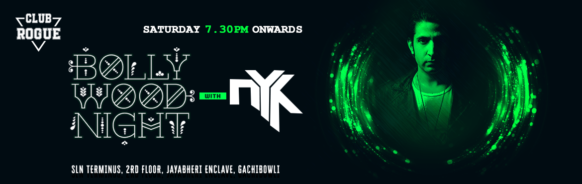 Book Online Tickets for DJ NYK at Club Rogue at Gachibowli, Hyderabad. Brace yourself to encounter an evening of fantastic music with India's No 1 DJ NYK at Club Rogue for special Commercial Saturday Nights DJ / DVJ and producer, NYK, aka Nikhil Sahni is a unique artist who has successfully brought together two se
