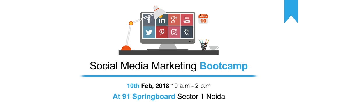 Book Online Tickets for Social Media Marketing Bootcamp, Noida.  The Social Media Marketing Bootcamp is an Exclusive Workshop for Entrepreneurs to Discover Everything they Need to Know to leverage the Power of Social Media Marketing to Successfully Grow their Business Online.Here is What you will learn:-➤